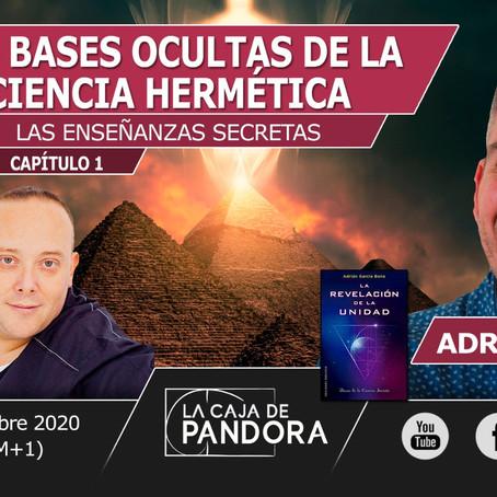 """Tertulia online en directo """"Bases Ocultas de la Ciencia Hermética"""""""