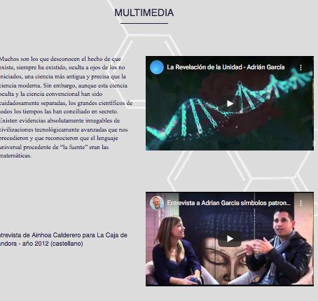 Descubre la sección multimedia