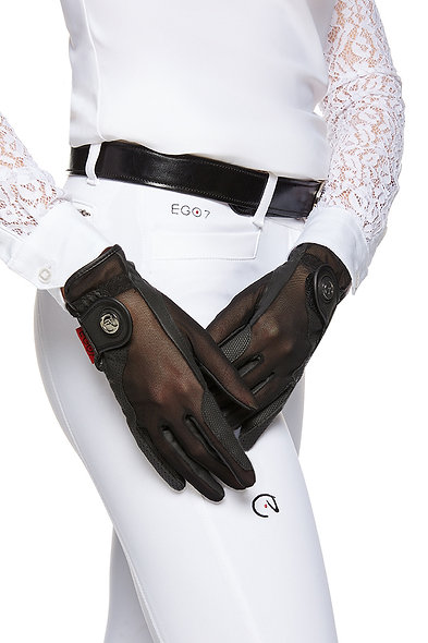 Air Gloves With Mesh