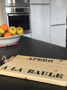 cuisine villa Elias la Baule