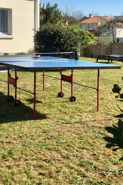 table de ping pong villa Elias, la Baule