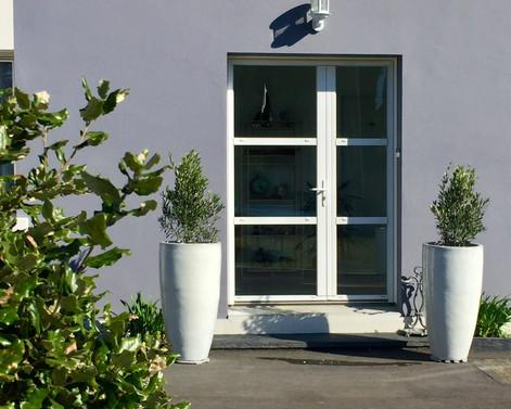 entrée villa Elias, la Baule