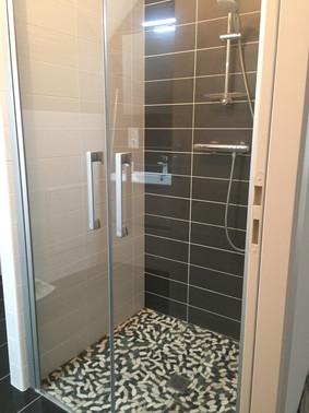 salle de douche, villa Elias, la Baule