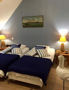 chambre bord de mer, villa Elias, la Baule