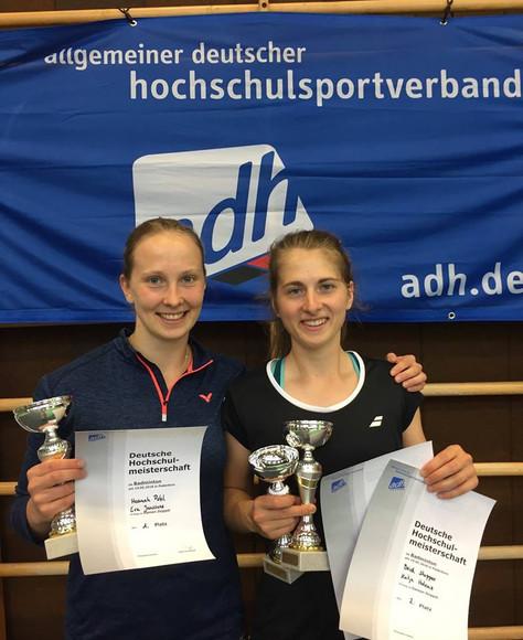 3 Titel bei den DHM im Badminton
