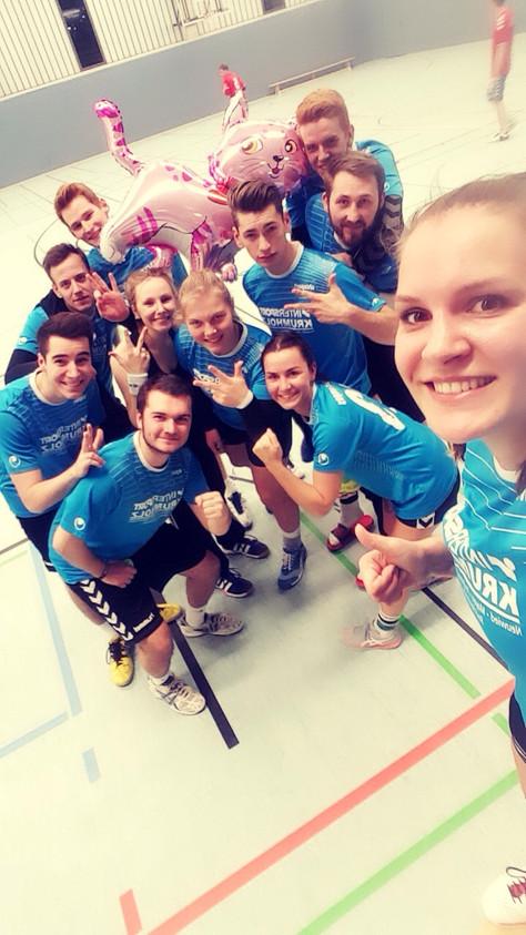 Handball-Team in Münster