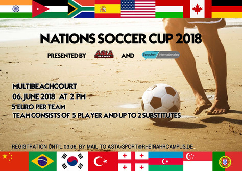 Nations Soccer Cup am 6.6.