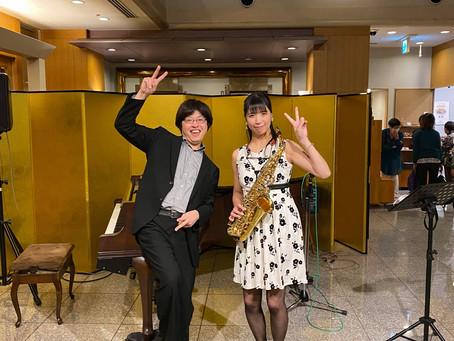 鹿教湯温泉 斎藤ホテルさんでコンサート