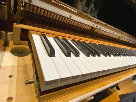頑張れ我が家のピアノ(^^)
