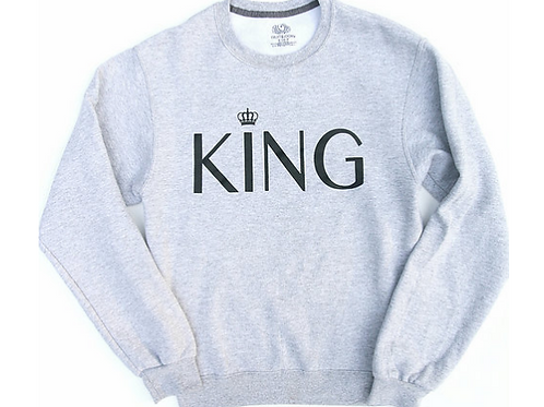 KING Crew Neck Sweatshirt