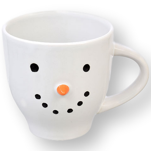 Signed XL Snowman Mug