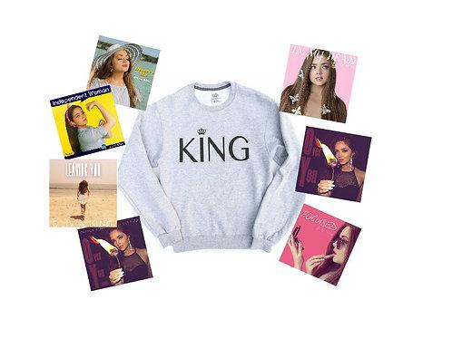 KING Sweatshirt + All Releases (BUNDLE)