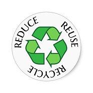 logo reduction des déchêts