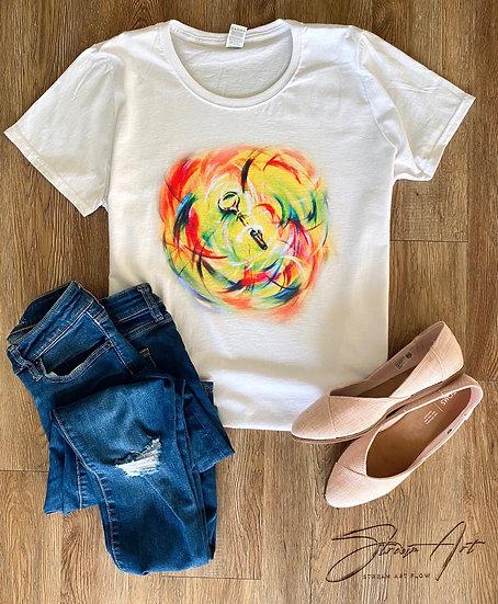 "Woman T-Shirt ""KEY"""