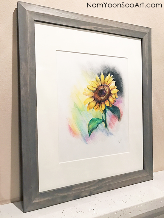 Unique colors-Sunflower