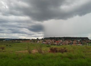 Fotos da chuva em Santa Maria da Serra/SP