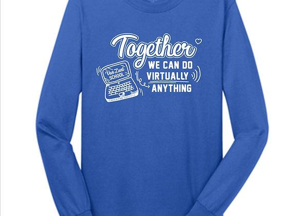 "VZ Adult Long Sleeve ""Virtually"" Tee '20"