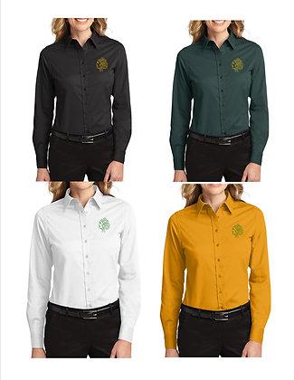 STBE Ladies Button Front Shirt '21