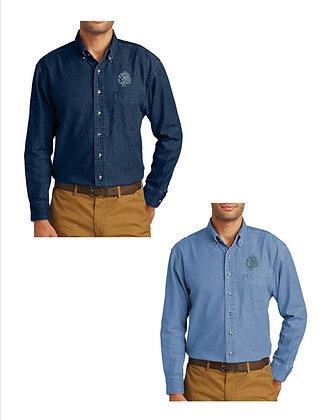 STBE Men's Denim Button Down Shirt '21