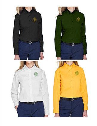 STBE Ladies Button Down COLLAR Shirt '21