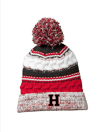HHFHB Knit Pom Pom Hat '21