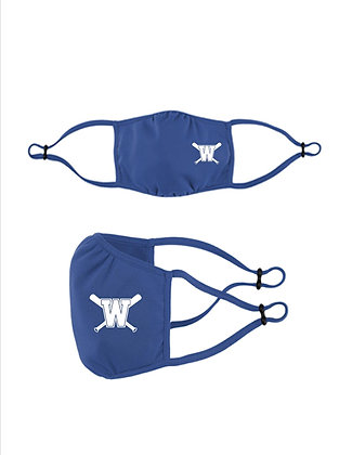 WDSF Moisture Wicking Adjustable Face Mask '21