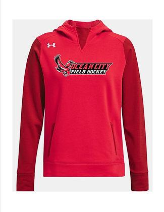OCFH Ladies UA Dynasty Fleece Hoodie '21