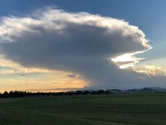 Cumulonimbus Clouds near Houston