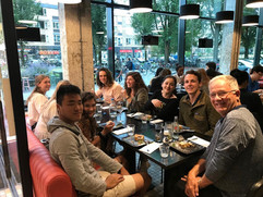 Study Abroad 2019 - Welcome Dinner