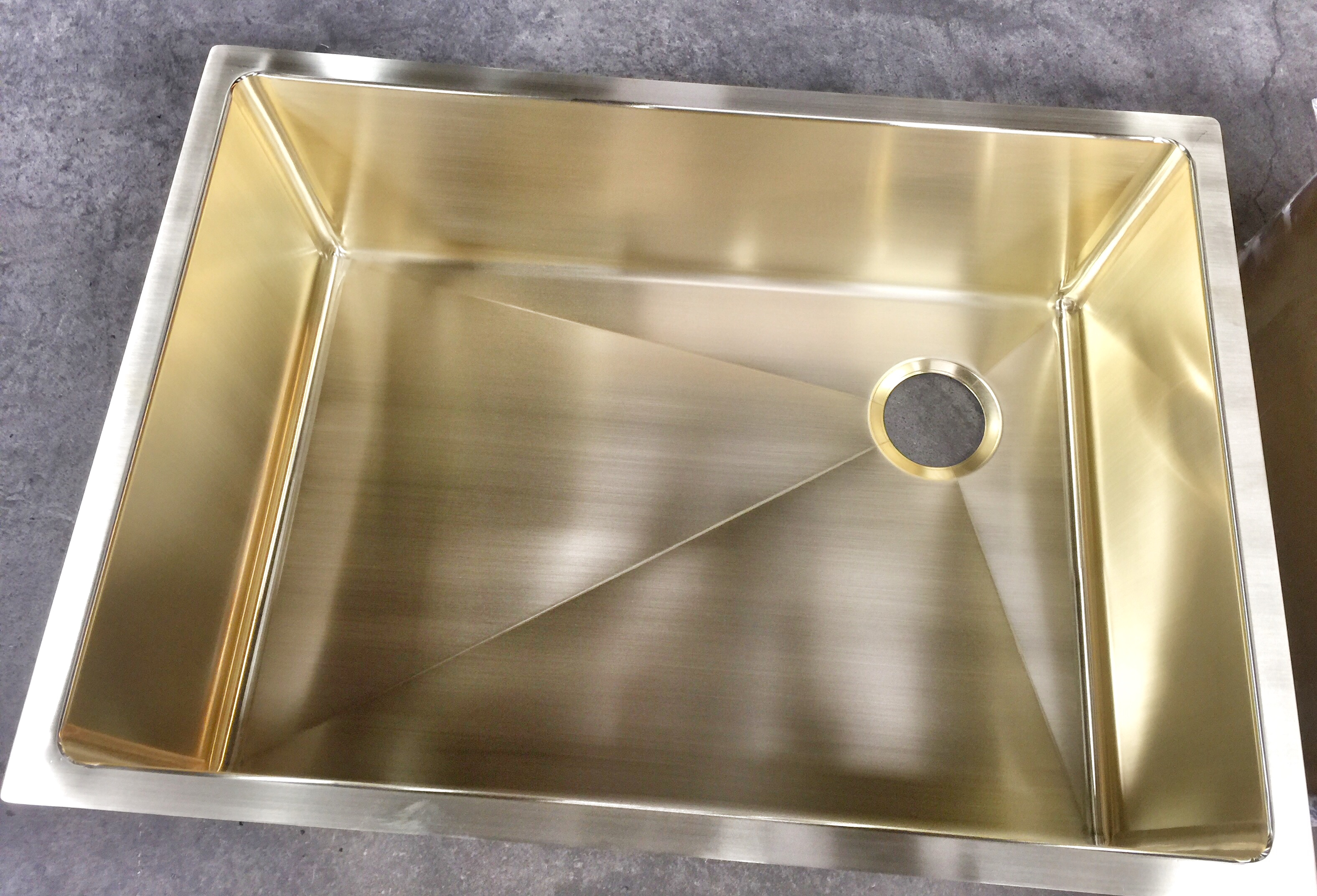 Custom Brass Sinks Made To Order