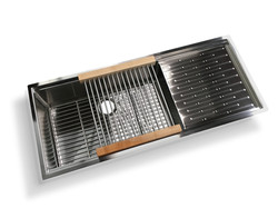 BERLIN PRO-SERIES SINK WITH REMOVABLE DRYING RACK 2