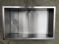 Berlin custom zero radius sink