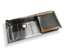BERLIN PRO-SERIES SINK WITH REMOVABLE DRYING RACK