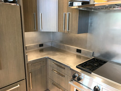 Berlin Hand Honed Stainless Countertops