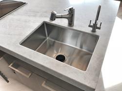 custom stainless undermount sink
