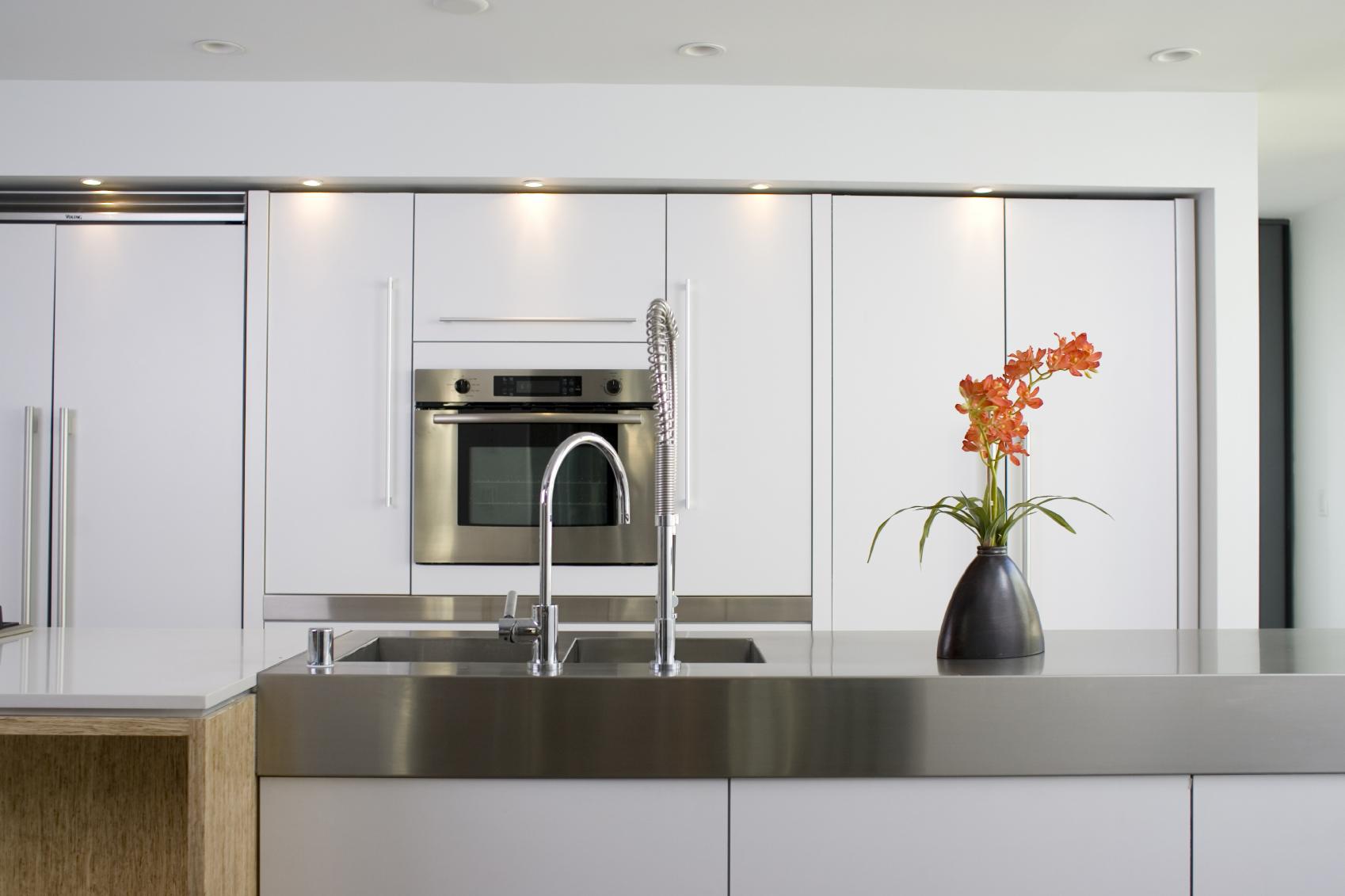 Custom Stainless modern Kitchen