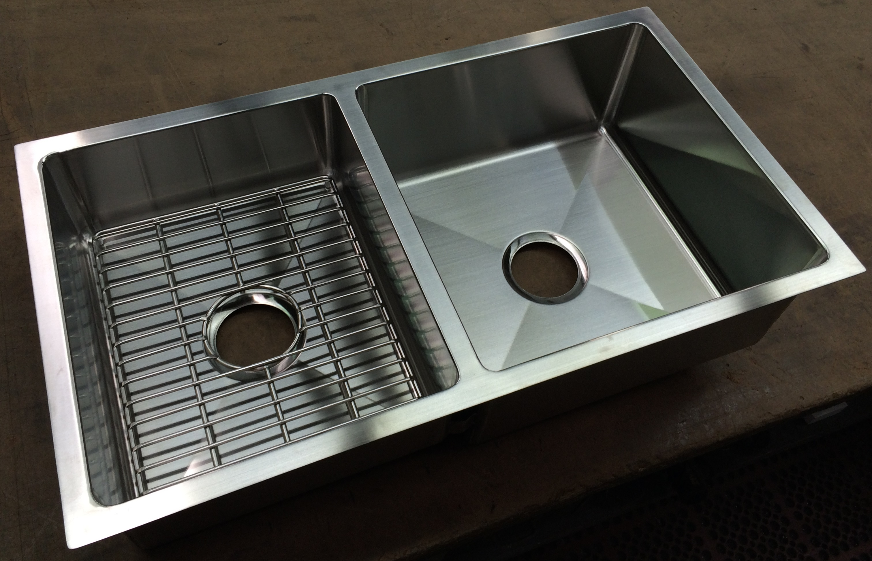 Berlin custom double bowlsink