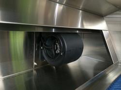 Berlin Single 600 cfm internal blower system
