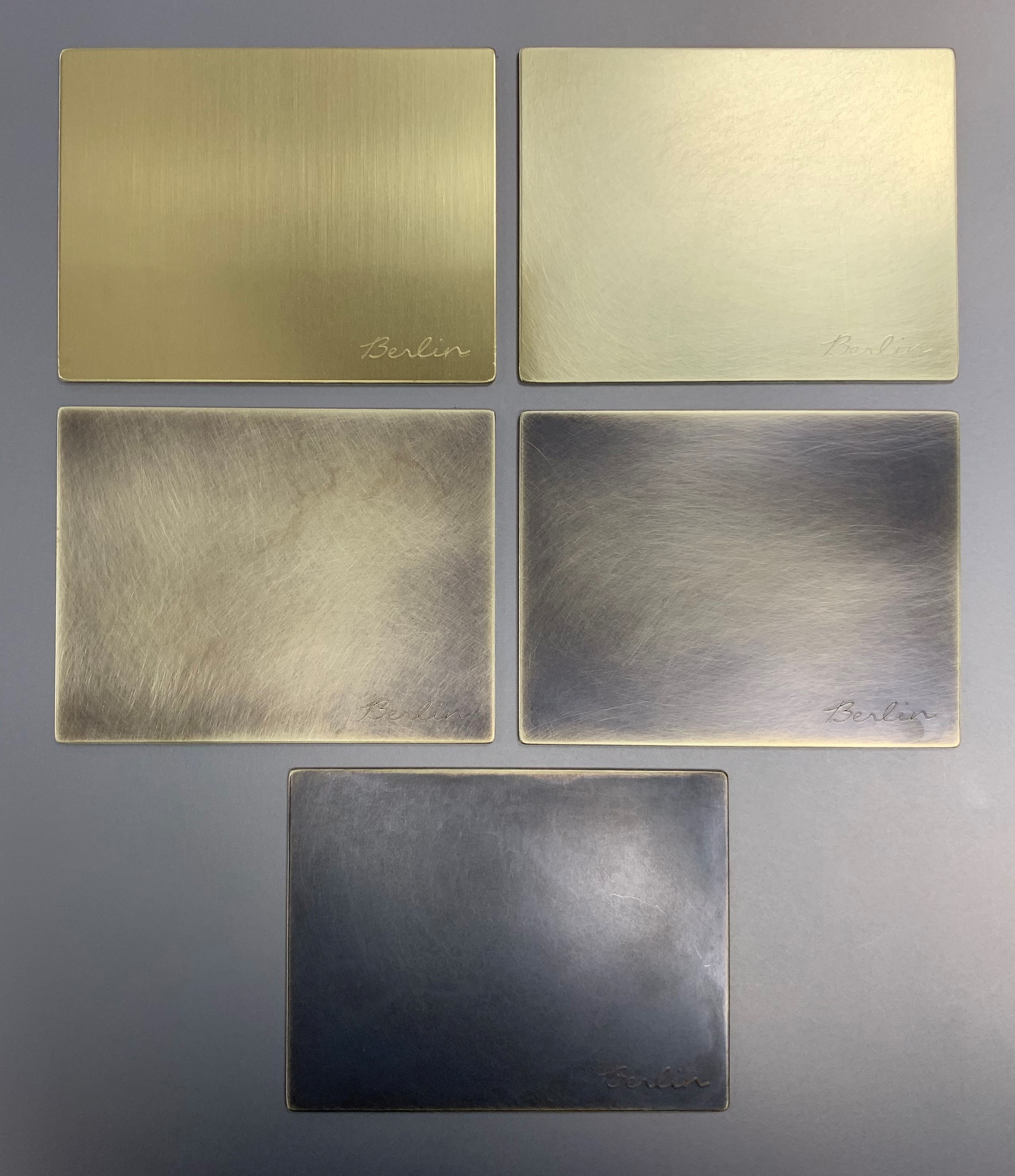 Patina Brass Samples