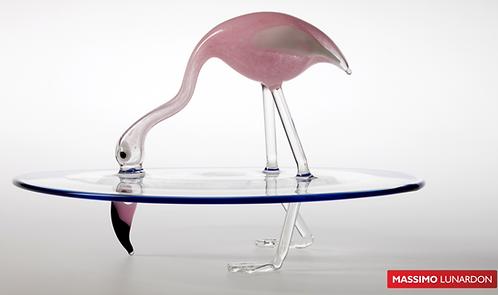 LUNARDON Centrotavola Flamingo Splash