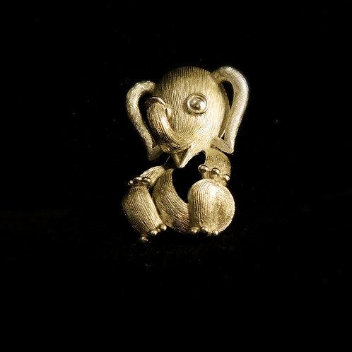 Trifari Spilla Elefante