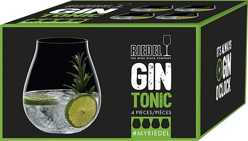 RIEDEL Optical Gin Tonic Set 4