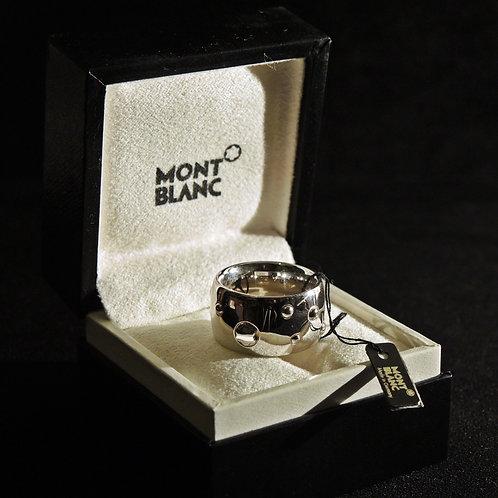 """Mont Blanc Fascia Argento """"Star"""" Alta"""