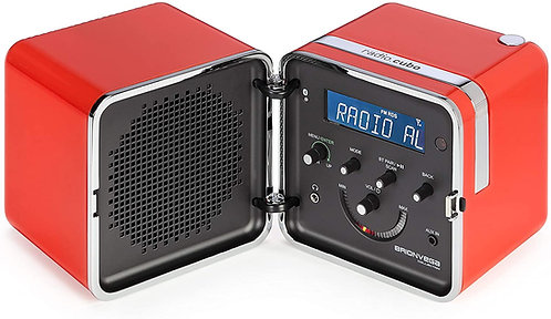 BRIONVEGA  Cubo Radio Bluetooth DAB