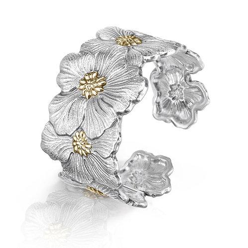 """BUCCELLATI Bracciale Gardenia """"Blossoms"""" Medio"""