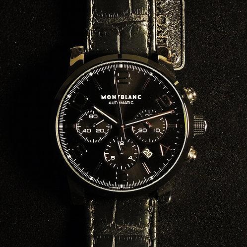 Mont Blanc Cronografo Automatico Nero