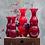 Thumbnail: VENINI Vaso Pigmenti Satinato Rosso basso