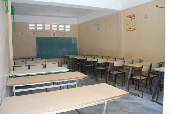 Un centre de formation professionnelle à l'école Bresma