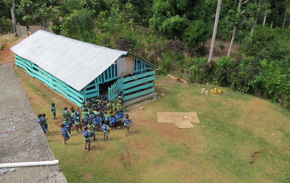 Ecole maternelle provisoire de Castaches