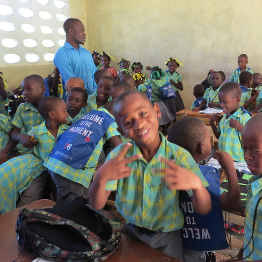 Enfants de l'école de Castaches
